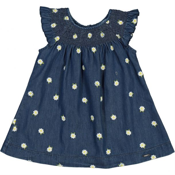 Baby Girls Daisy Denim Dress