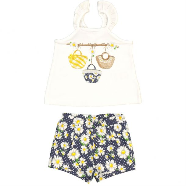 Baby Girls Top & Short Set