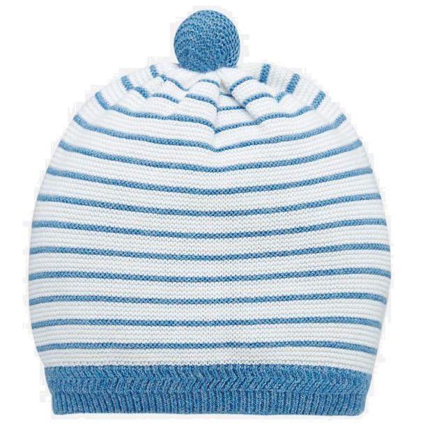 Baby Boys Stripe Knit Hat