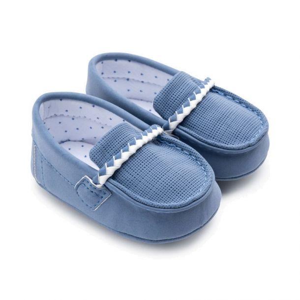 Baby Blue Pre-walker Loafer