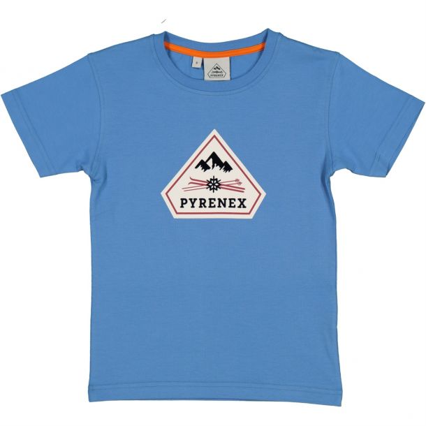 Boys Blue Logo T-shirt