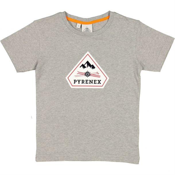 Boys Grey Logo T-shirt