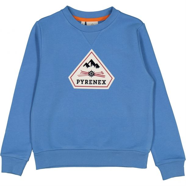 Boys Blue Logo Sweat