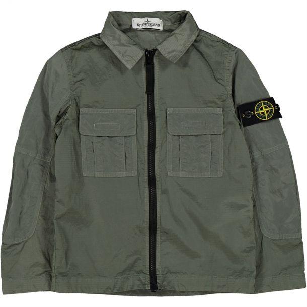 Boys Khaki Overshirt