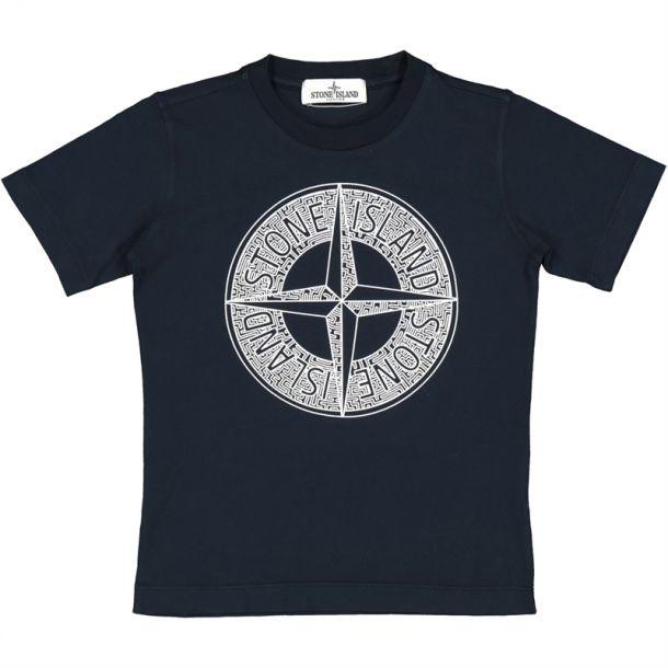 Boys Navy Compass T-shirt