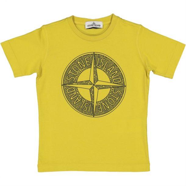 Boys Mustard Compass T-shirt