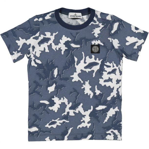 Boys Camo Crew Neck T-shirt