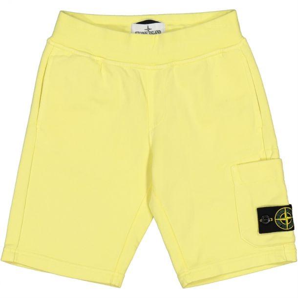 Boys Yellow Badge Shorts