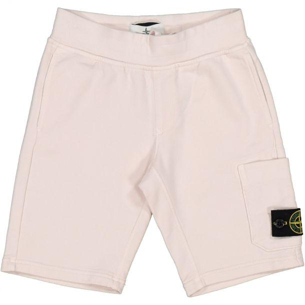 Boys Beige Badge Shorts