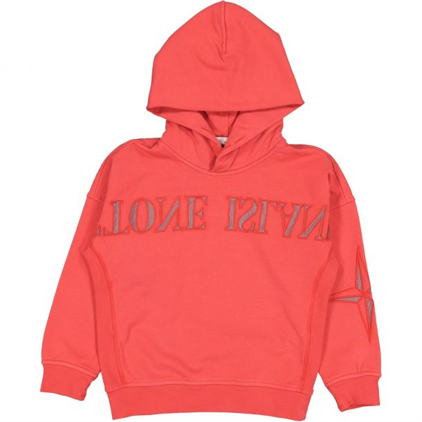 Boys Red Mirror Image Sweat