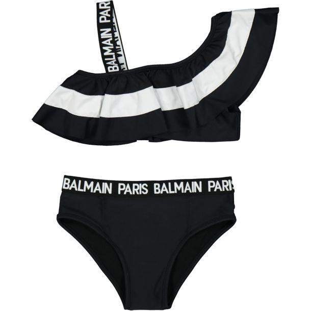 Girls Balmain Branded Bikini