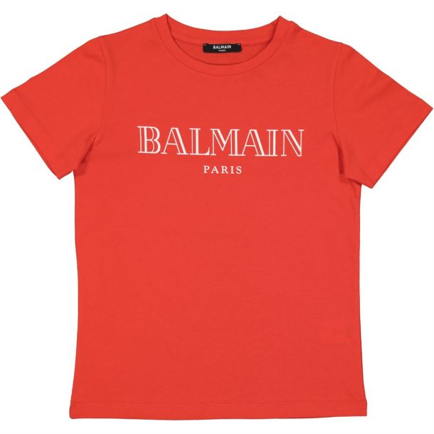 Boys Red Classic T-shirt