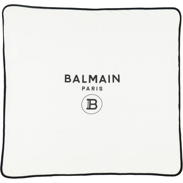 Baby White Branded Blanket