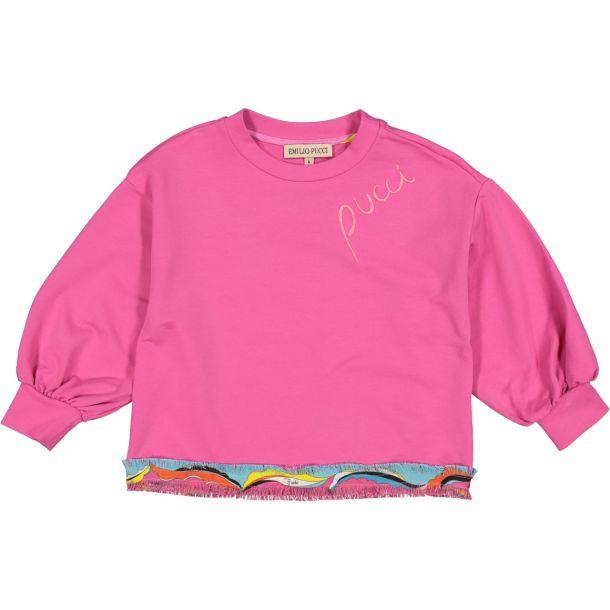 Girls Pucci Sweatshirt
