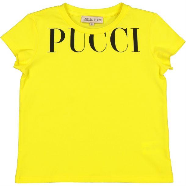 Girls Pucci Print T-shirt