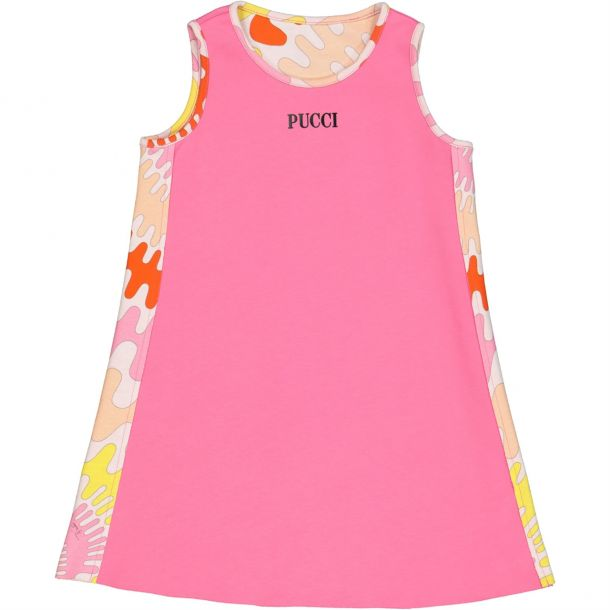 Girls Reversble Pucci Dress