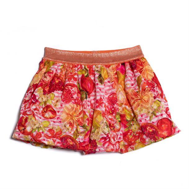 Girls Clure Fruit Print Skirt