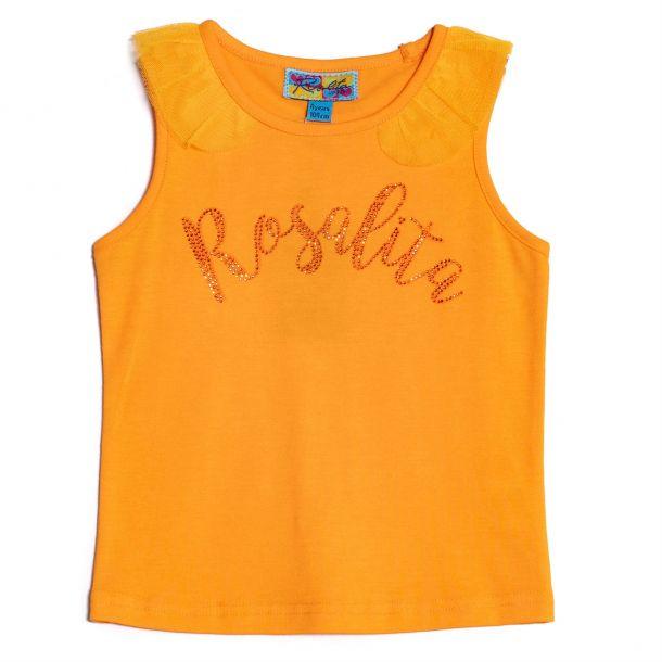Girls Clure Rosalita Logo Top
