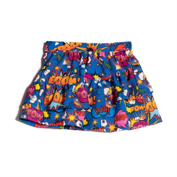 Girls Martre Print Skirt