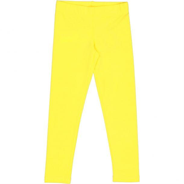 Girls Yellow Leggings