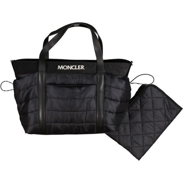 Black Quilted Changing Bag