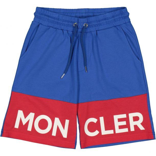 Boys Logo Cotton Shorts