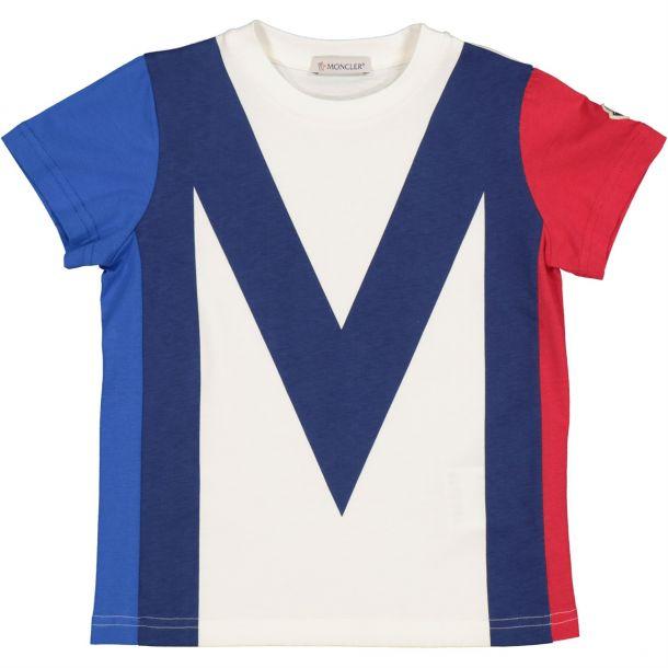 Boys Ivory Cotton T-shirt