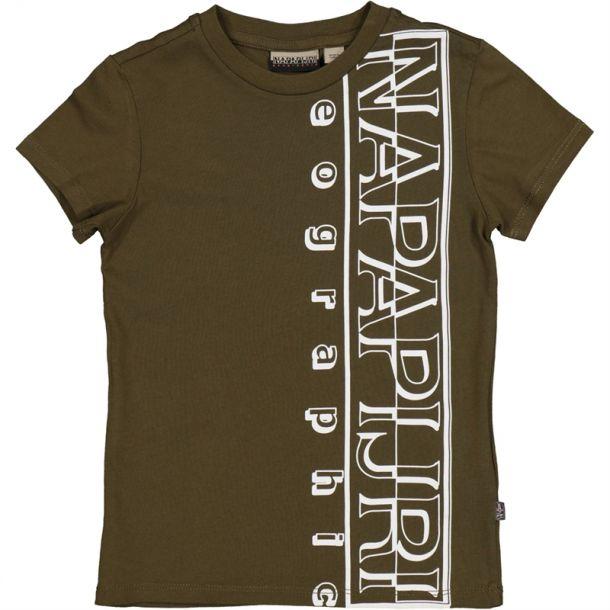 Boys Branded Side T-shirt