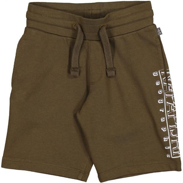 Boys Khaki Jersey Shorts