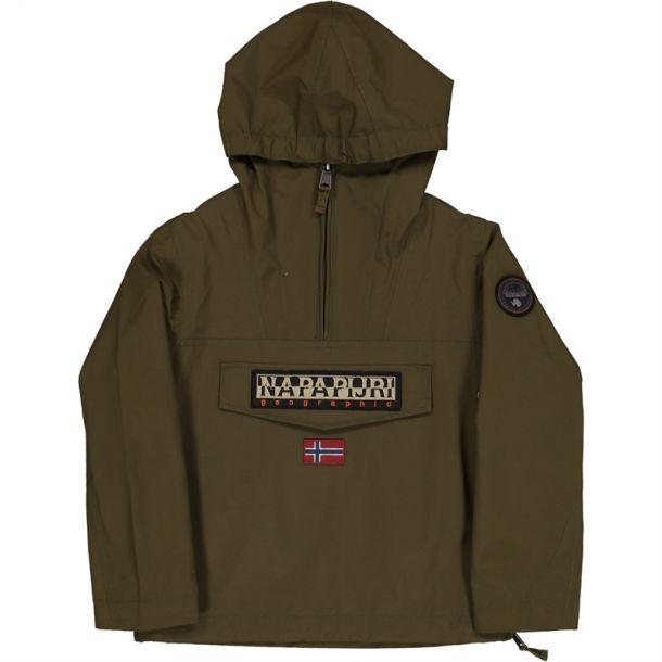 Boys Khaki Logo Jacket