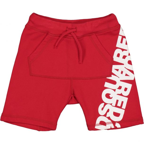 Boys Red Jersey Shorts