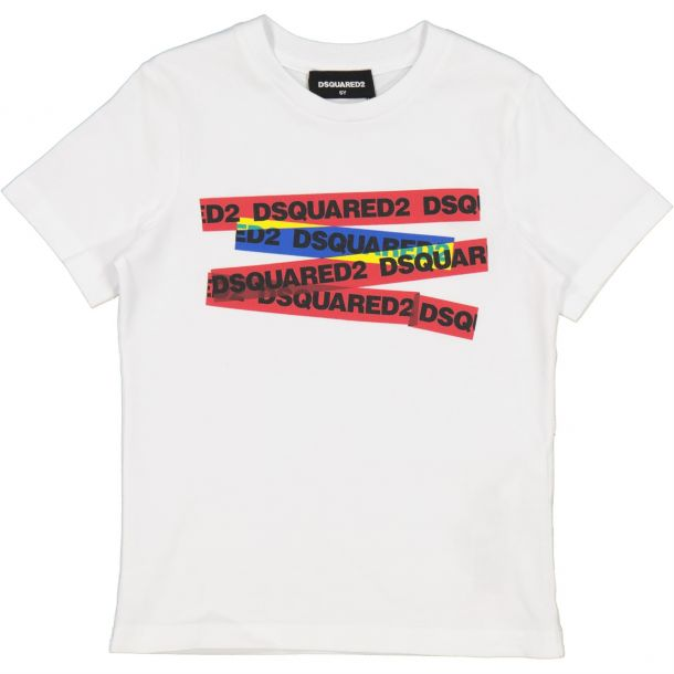 Boys Dsquared2 Branded T-shirt