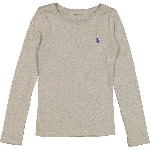 Girls Grey Classic T-shirt