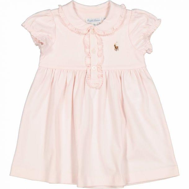 Baby Girls Polo Dress Set
