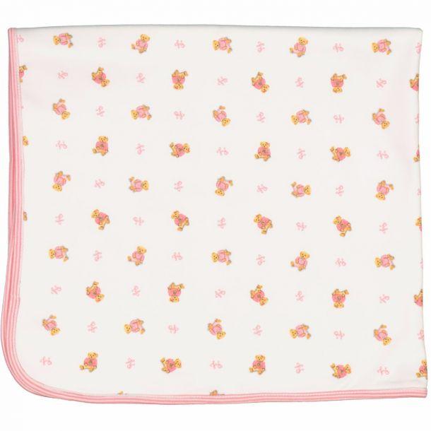 Baby Girls Bear Blanket