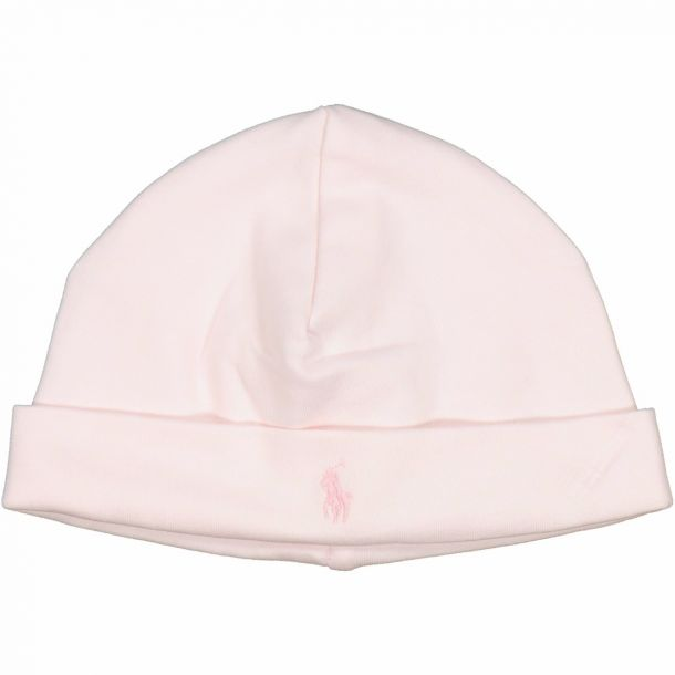 Baby Girls Pink Pull On Hat