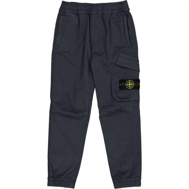 Boys Navy Logo Trousers