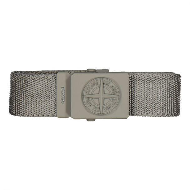 Boys Grey Woven Belt