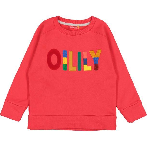 Girls 'hoores' Red Sweatshirt