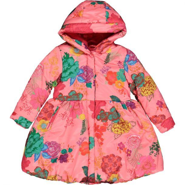 Girls 'charm' Rose Coat