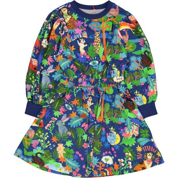Girls 'tair' Jersey Dress