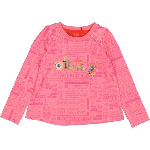 Girls 'tevree' Jersey T-shirt