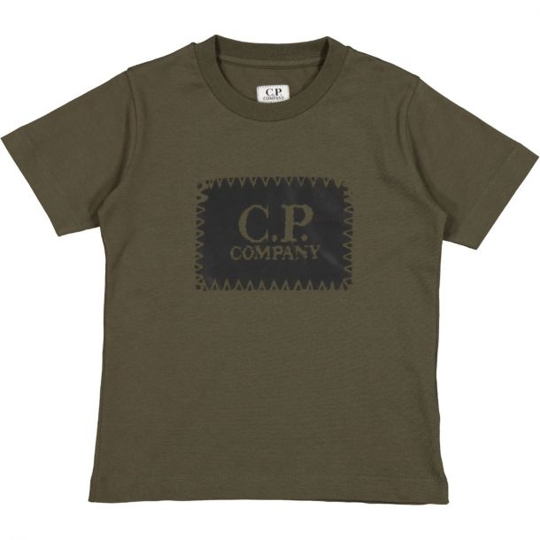 Boys Short Sleeve Logo T-shirt