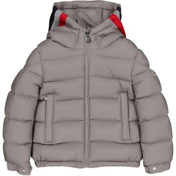 Boys Grey 'Sorue' Down Jacket