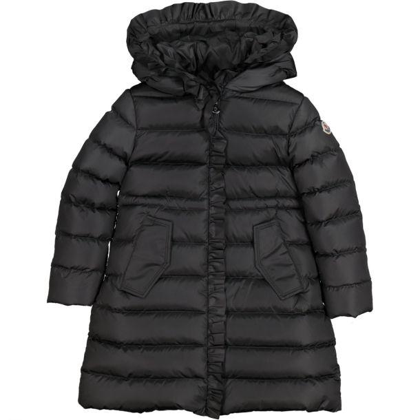 Girls Dark Grey 'Vennal' Down Coat