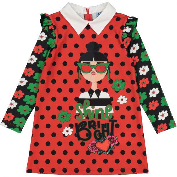Girls 'chica' Jersey Dress