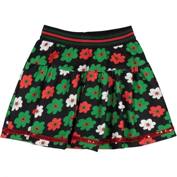 Girls 'chica' Flower Skirt
