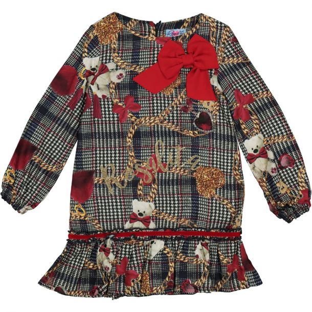 Girls 'escobita' Print Dress