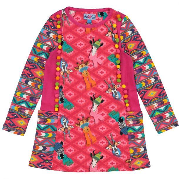 Girls 'bailar' Pom Pom Dress