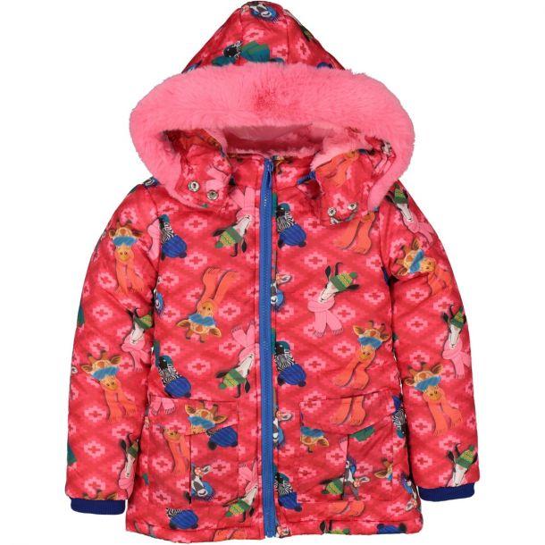 Girls 'bailar' Printed Coat